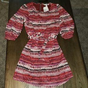 New Speechless Long Sleeve Boho Dress